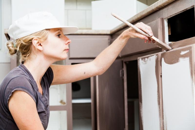 Keuken Schilderen Kleuren : Keukenkastjes verven: geef je keuken een make-over! infobron.nl