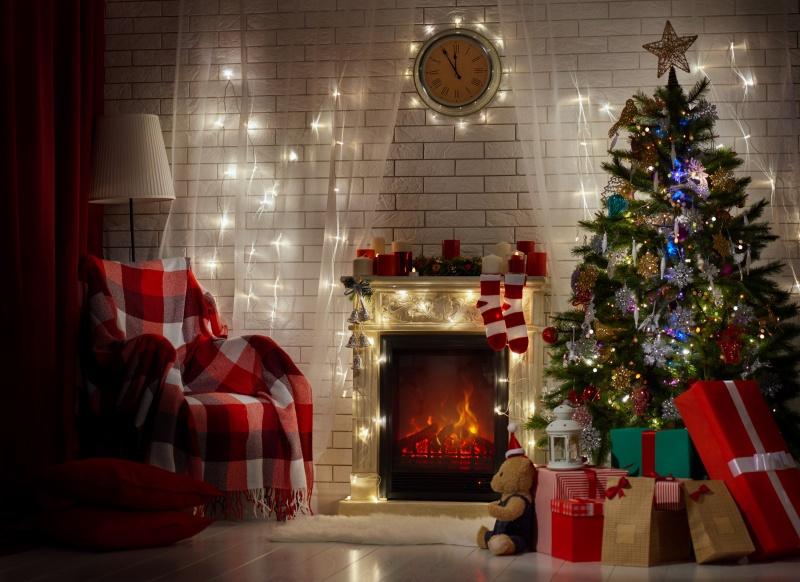 Waar komt kerstmis vandaan - Decoration de noel cheminee ...