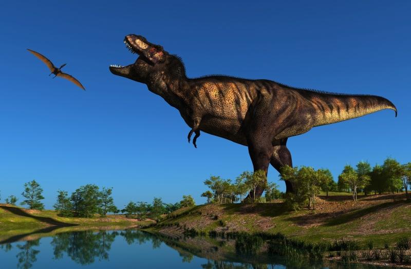 fliegende dinosaurier