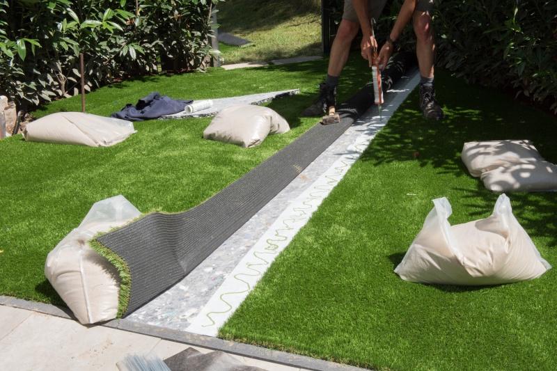 Kunstgras for Colocar cesped artificial sobre tierra