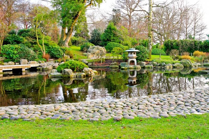 Eigen tuin als japanse tuin inrichten for Tuin inrichten planten