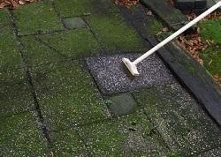 Tegels Voor Buiten : Groene aanslag verwijderen van tegels buiten infobron.nl