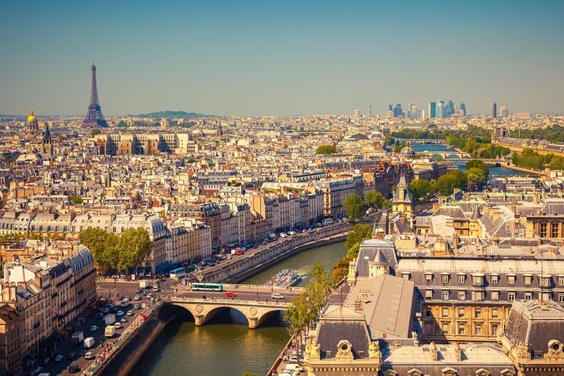 op vakantie naar parijs