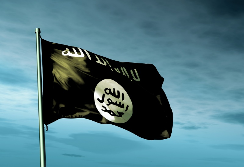 IS , Isis flag